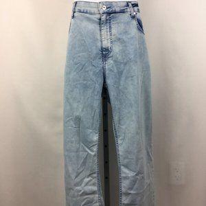Escales White Men/'s Straight Pants Size 48